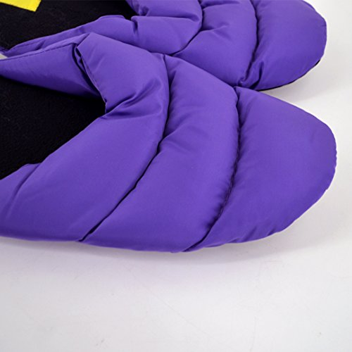 Slippers Slippers Thick Winter Purple Cotton Household Lovers Couples Monique Slippers Women Warm Plush Men 7qwaAxH
