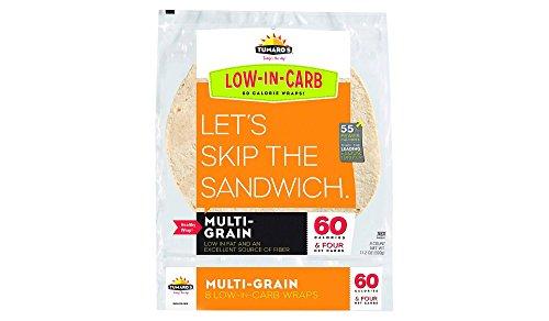 Low Fat Feta (Tumaro's Low Carb Multi Grain Tortillas, pack of 1)