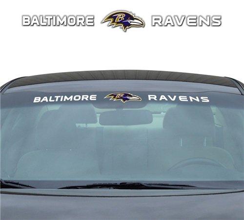 - Baltimore Ravens 35''x4'' Windshield Decal