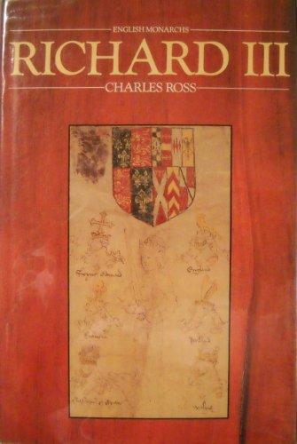 Richard III (English Monarchs Series)