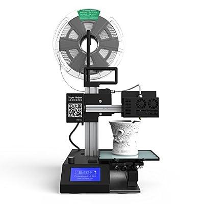 Winbo Super Helper SH155L Multi-functional 3D Printer for Sales+Laser Engraving+Cutting Build Size:155155205mm(black)
