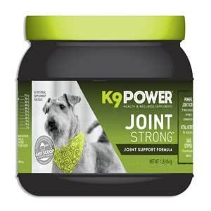 K9-Power Joint Strong Dog Joint Support Formula For Your Dog's Joint Health and Mobility (1 lb Container)