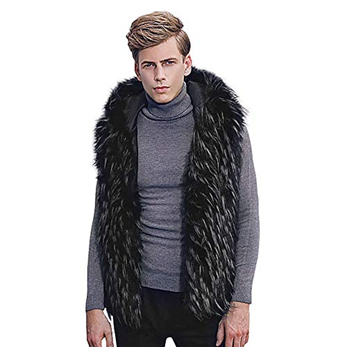 Monster Fur Coat - Clearance Sale! 2018 Wintialy Men Faux
