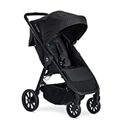 Lightweight-Stroller-One-Hand-Easy-Fold-Ventilated-Canopy-Cool-Flow-Ventilated-Fabric-Cool-Flow-Teal