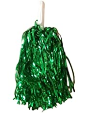 lumanuby Dance Party Costume deportes animadora pompones de bola de flores con mango de plástico Mano Flores Rookie bola 1pc