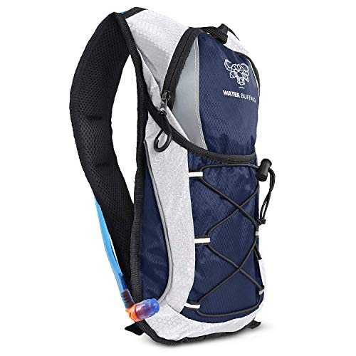 🥇 Water Buffalo Hydration Pack Backpack – Water Backpack – 2L Water Bladder
