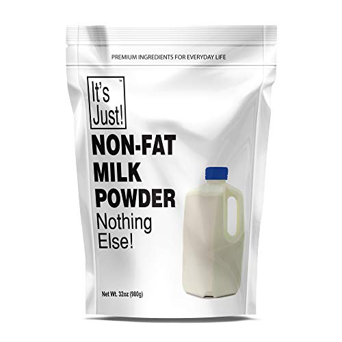 It's Just – Non Fat Milk Powder, Instant Milk, Made in USA, 32oz