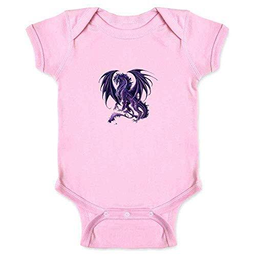Draco Nox Dragon by Ruth Thompson Art Pink 18M Infant Bodysuit