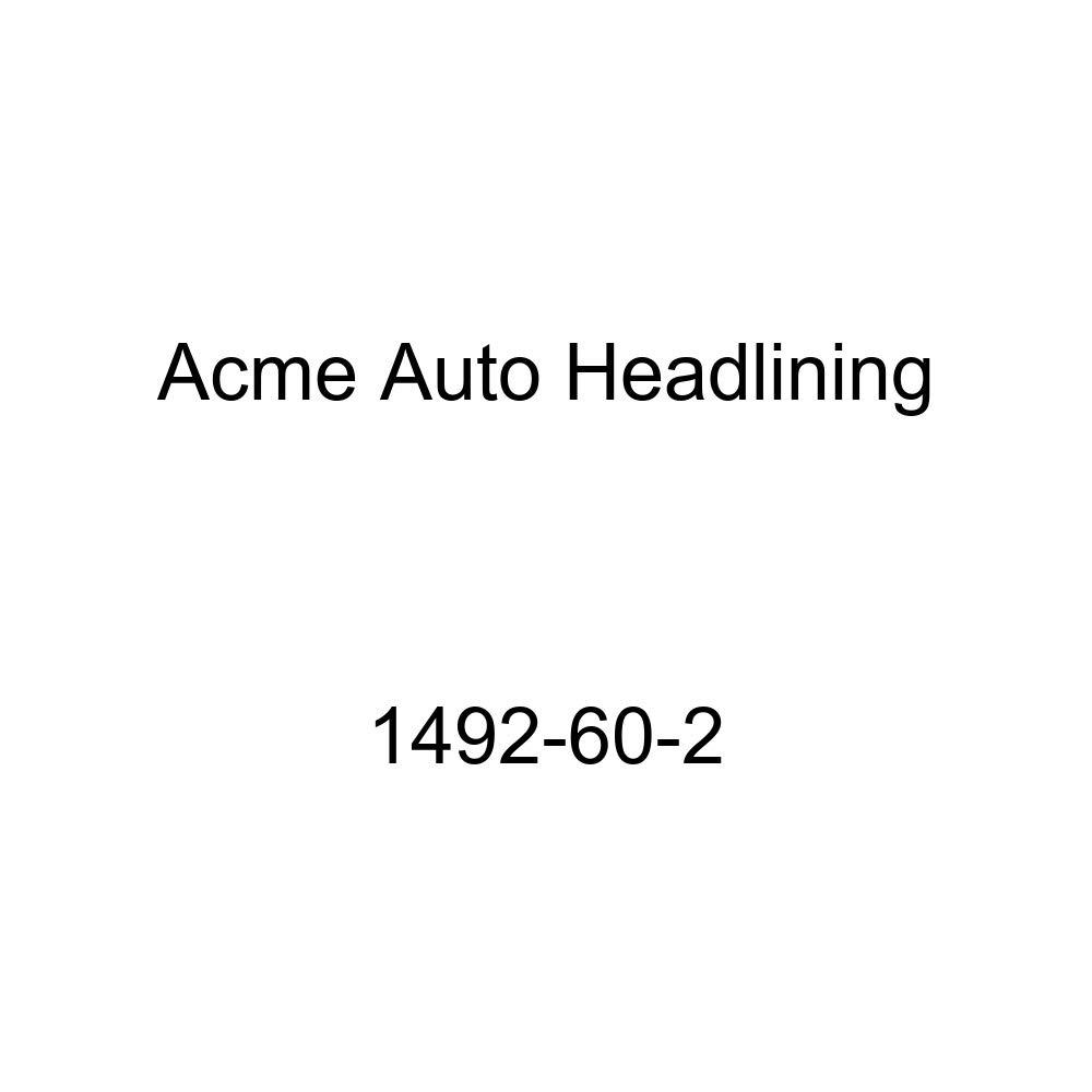 Acme Auto Headlining 1492-60-2 Black Replacement Headliner 1960 Chevrolet Corvair 2 Door Club Coupe 5 Bow