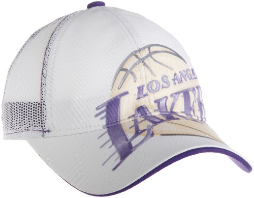 (NBA Women's Slouch Adjustable Mesh Back Hat - Er43W, Los Angeles Lakers, One Size , Los Angeles Lakers ,)