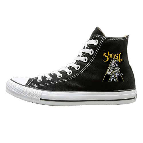 candyy-popestar-ghost-bc-comfortable-unisex-flat-canvas-high-top-sneaker-42-black