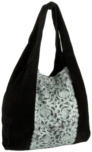 Cynthia Vincent Lace Signature Grocery Bag