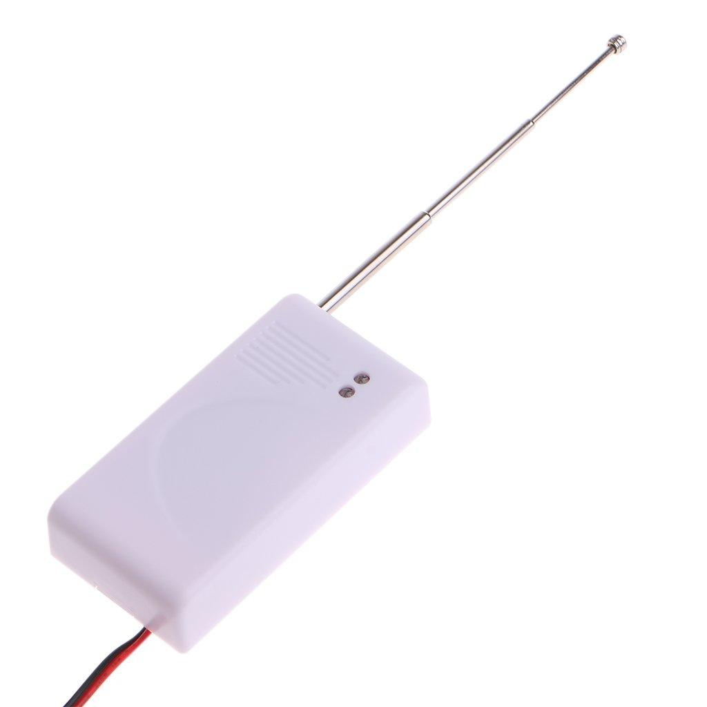 ZOUCY 1 PC 433 MHz rilevatore di perdite di Acqua rilevatore di perdite Senza Fili per Allarme di Sicurezza Domestica