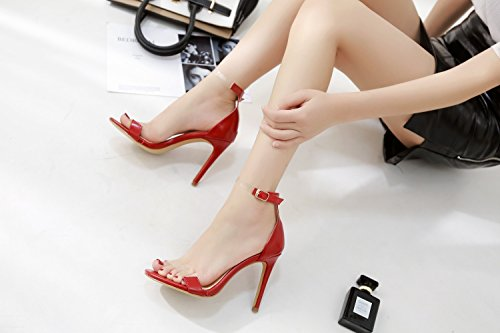 Shoes Evening Heels Heel Summer Color amp; Size Shoes PVC Stiletto Shoes Club Fall C for Transparent Party Women's Sexy 37 Wedding gaqd8xwd