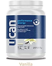UCAN Performance Energy + Protein Powder (26.5oz, 15 Servings) - Whey Protein, Gluten Free, No Sugar Added (Vanilla)