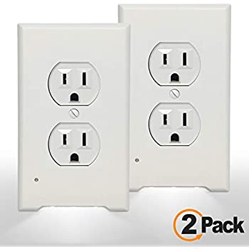 Superb 2 Pack Snappower Guidelight Outlet Wall Plate With Led Night Wiring Cloud Pimpapsuggs Outletorg