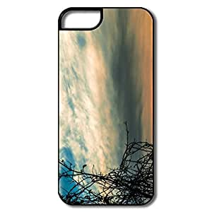 Case For Iphone 5/5S Cover, Sunset Time Cases Case For Iphone 5/5S CoverWhite/black Hard Plastic
