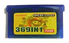 369 in 1 Multi Cart Video Game Cartridge Best Collection Made for GBA Game Boy Advance (View Images for full list) (Japan)