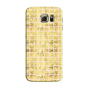 Cover It Up - Gold Pink Break Mosaic Galaxy S6 Hard Case