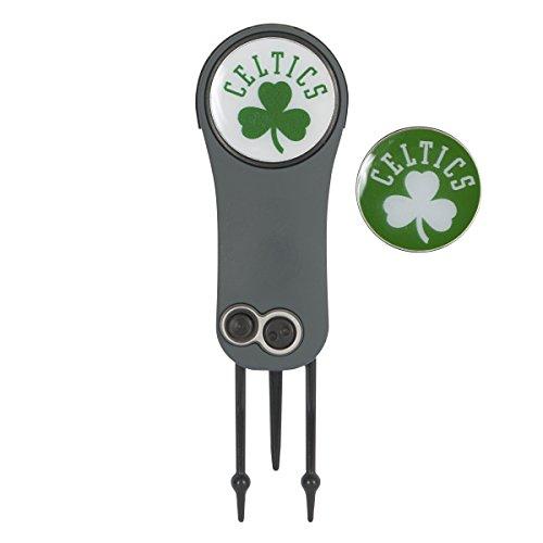 Team Effort NBA Boston Celtics Switchblade Repair Tool & 2 Ball Markers by Team Effort