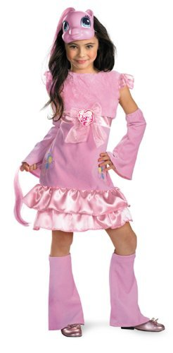 My Little Pony Pinkie Pie Costume (My Little Pony Pinkie Pie Deluxe, Child (3T-4T))