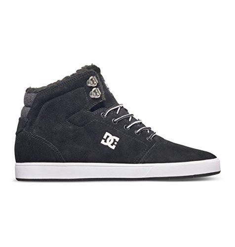 DC Shoes Men's Crisis Winter Hi Top Shoes Black (bkw)
