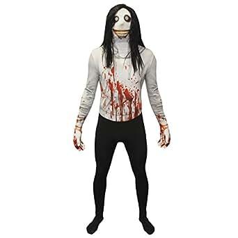 Morphsuits Men's Zalgo Monster Adult Fun Costume, Jeff The Killer, Medium