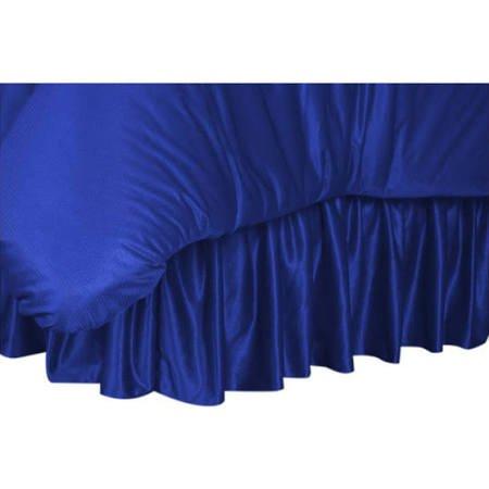 NCAA Duke Blue Devils Bed Skirt, King, Bright Blue ()
