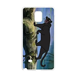Samsung Galaxy Note 4 Cell Phone Case White The Jungle Book Character Bagheera as a gift A4626567