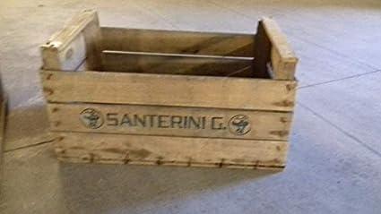 Juego de 3 cajas de madera para frutas haya veronesi para bibliotecas, estanterías 52 x