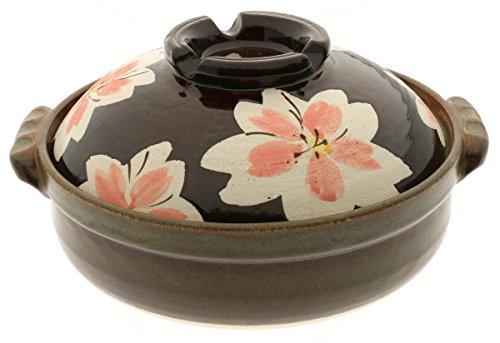 Kotobuki 190-920D Donabe Japanese Hot Pot, Medium, Brown by Kotobuki