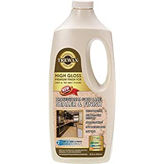 Trewax Professional Gold Label Sealer Wax Gloss Finish, 32-Ounce