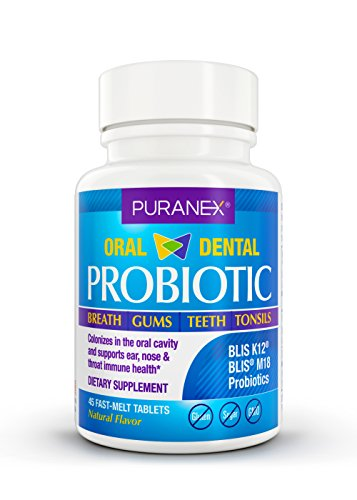 Oral probiotic blis k12