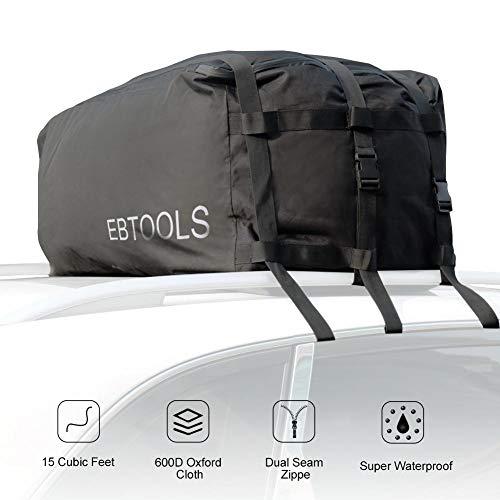 KIMISS Car Cargo Bag 100% Waterproof Car Top Ca...