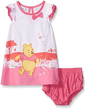 Winnie The Pooh Dress with Rayon and Panty