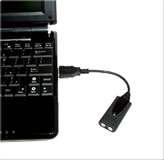 Usb-Sa External Usb Sound Card With Premium Microphone Input and Speaker Output