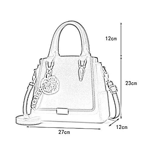 Main Femmes Anlei Pu Bag 27 611 Bandoulière Sac 03 Mode La À Hzy Couleurs Messenger 23cm 12 6 xXE4wXpqr