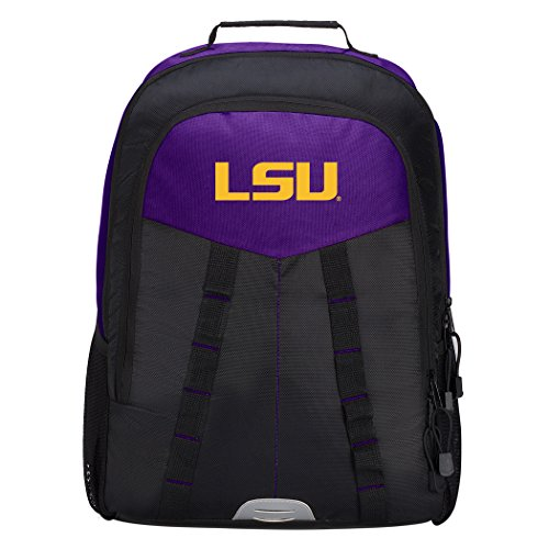 Officially Licensed NCAA LSU Tigers Scorcher Sports Backpack, ()