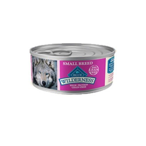 Blue Buffalo Wilderness Grain Free High Protein Small Breed Turkey & Chicken Grill Canned Dog Food (Pack of 24)