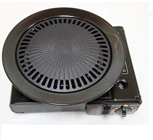 Gril de barbecue sans fumée pour cuisinière à gaz domestique intérieur noir poêle haut gril porcelaine émaillée brésilienne poêle