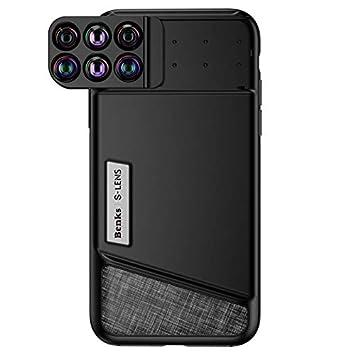 578088372686 Wewoo Objectif pour iPhone X Fun Photographie série 6 en 1 étui de téléphone  lentilles