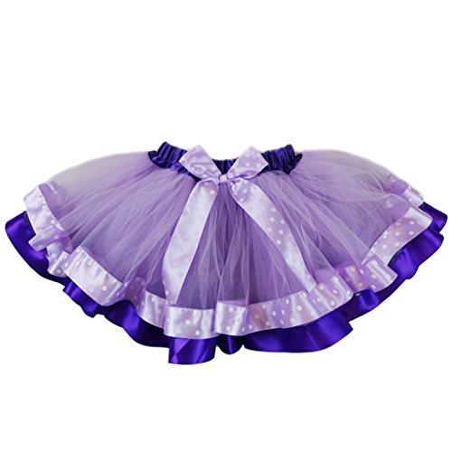 wenchoice Lavender Sofia The First Tutu SkirtGirls M(3Y-4Y) -