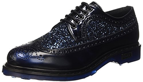 Stringate Scarpe Donna Brogue Basse Sabbath Blu Cult qZF0E5