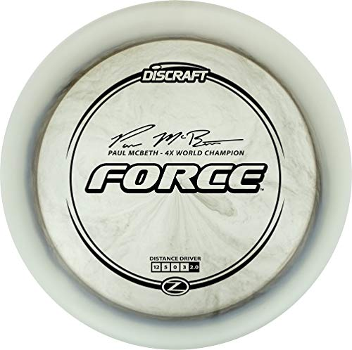 Force Disc - Discraft Paul McBeth Signature Elite Z Force Distance Driver Golf Disc [Colors May Vary] - 173-174g