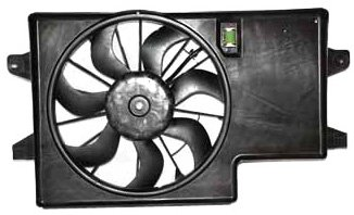 TYC 621850 Ford Focus Replacement Radiator/Condenser Cooling Fan Assembly (Cooling Fan Ford Focus compare prices)