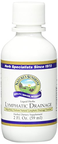 NATURE'S SUNSHINE Lymphatic Drainage Supplements, 2 Fluid Ounce