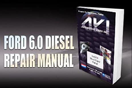 amazon com ford 6 0 diesel diagnostic manual everything else rh amazon com 6.0 Diesel Bible Ford 6.0 Diesel Review