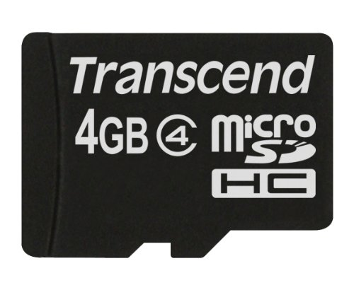 Transcend 4GB Micro SDHC4 (no Box & Adapter) by Transcend