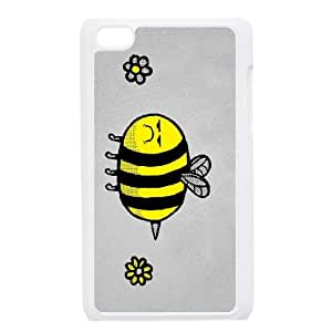 iPod Touch 4 Case White LEAVE ME BEE SP4148621