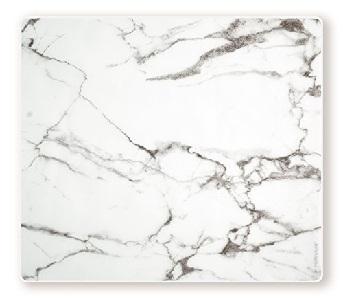 Marble Tabletop (modern-twist Silicone Placemat, Marble Pattern, Grey)